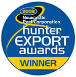 Hunter Export Awards Winner